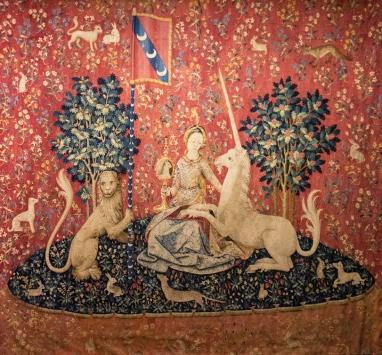 La vue, la Dame à la licorne, the Lady and the Unicorn, the sight