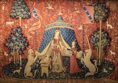 A mon seul désir, La Dame à la licorne , The Lady and the Unicorn, my sole desire